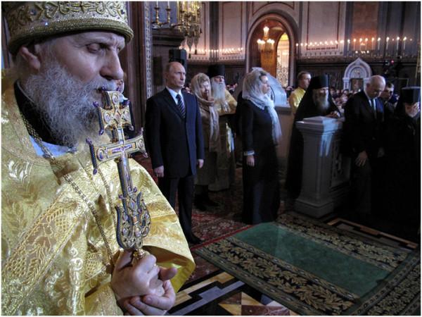 Интронизация Патриарха Московского и всея Руси Кирилла, храм Христа Спасителя, Москва, 1 февраля 2009 года 116