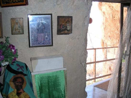 Иудейская пустыня, Вади Кельт (Нахаль Прат). Монастырь Харитона Исповедника 2