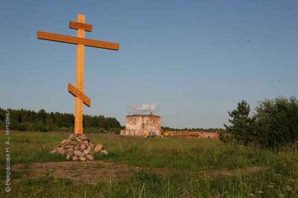 Спасо-Евфимиев Сямженский монастырь, разорен в годы лихолетия
