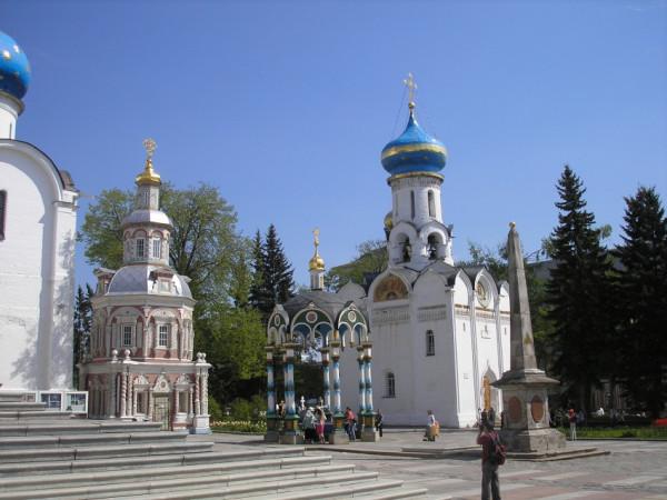 Троице-Сергиева Лавра. Церковь Сошествия Святого Духа