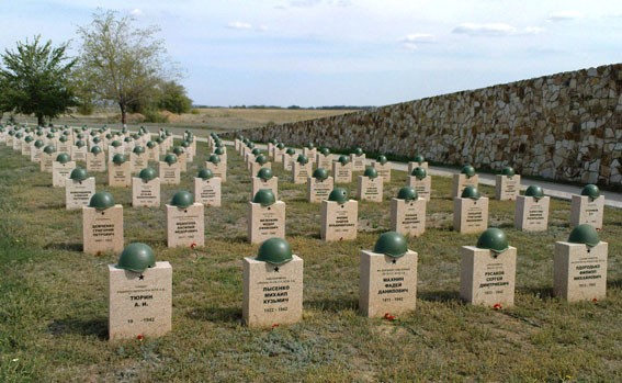 Россошки. Военно-мемориальное кладбище