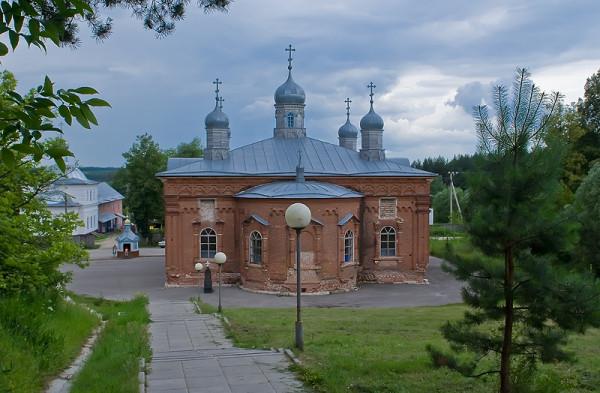 Мужской монастырь. Жабынская Макарьевская Введенская пустынь