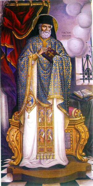 Иосиф Освященный, прозванный Самакос, Критский