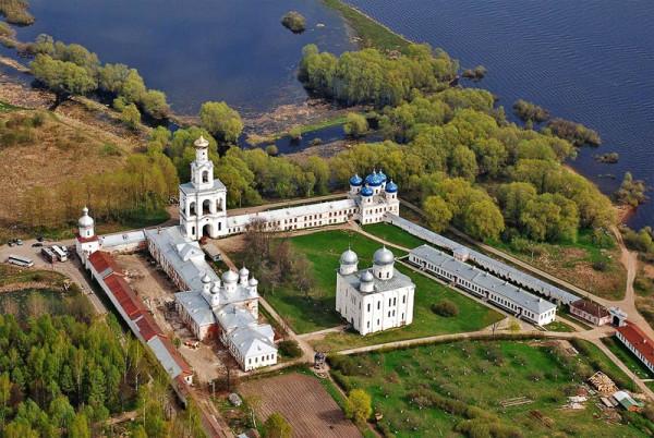 Свято- Юрьев монастырь, Новгород