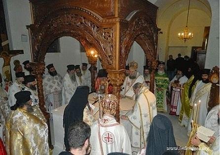 Открытие храма преподобного Паисия в Лимассоле 2