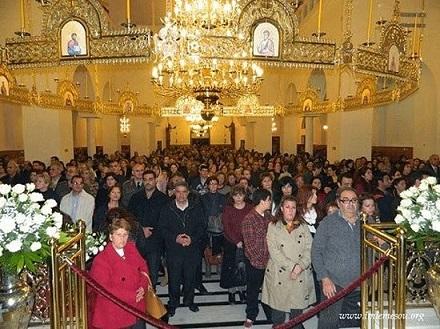 Открытие храма преподобного Паисия в Лимассоле 5