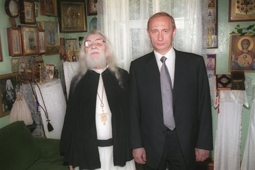 аримандрит Иоанн Крестьянкин и Путин