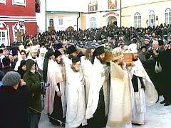 архимандрит Иоанн Крестьянкин отпевание