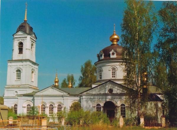 Церковь Космы и Дамиана - Летово - Рыбновский район - Рязанская область