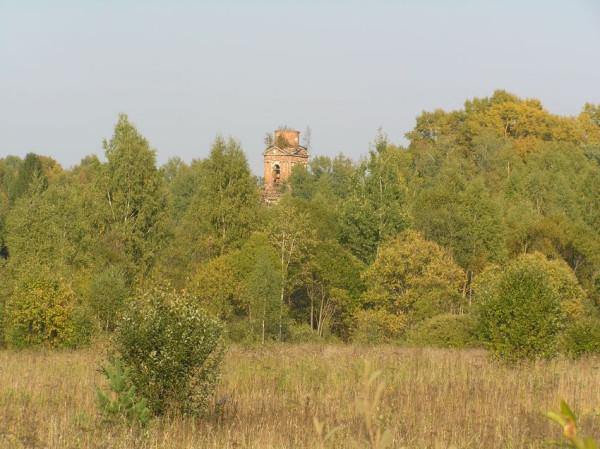 Колокольня церкви Воскресения Христова - Воскресенский погост - Калязинский район - Тверская область