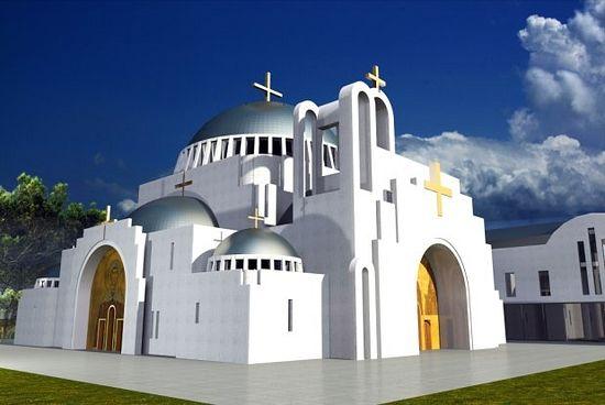 проект православного храма в Варшаве