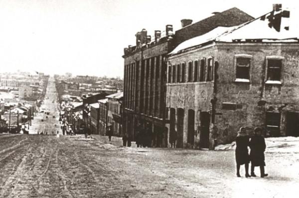 Курск после освобождения, улица Дзержинского