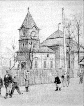 Церковь Преображения Господня, село Языль (1836 год). Не сохранилась.