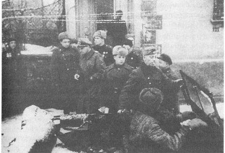 бригаденфюрреры Пфеффер Вильденбрух и Линденау арестованы красноармейцами