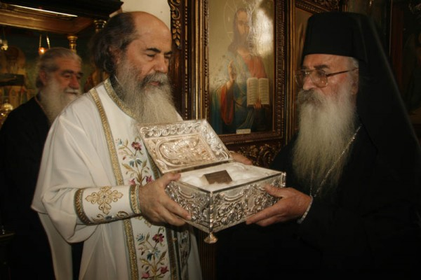 мощи праведного Симеона Богоприимца в Катамонах, Израиль