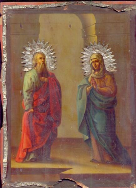 Святой Симеон Богоприимец и Анна пророчица