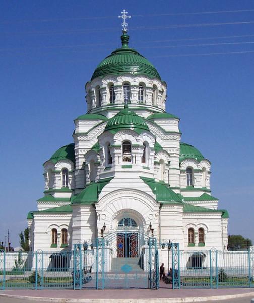 астраханский храм Святого князя Владимира