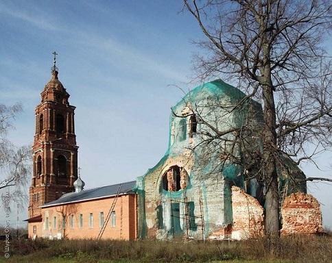 Церковь Троицы Живоначальной - Горбачиха - Орехово-Зуевский район, восстанавливается