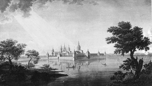Кирилло-Новоезерский монастырь. 1823 г. А.Г.Ухтомский