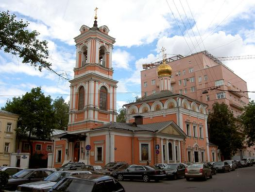 Церковь Воскресения Словущего на Успенском Вражке