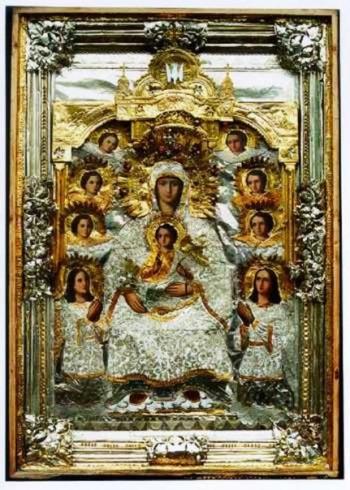 Икона Богородицы Дивногорская-Сицилийская