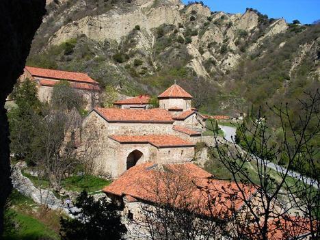 Шио-Мгвимский монастырь, Мцхета, Грузия