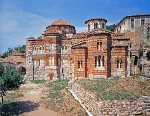 Монастырь Осиос Лукас в Фокиде, Греция