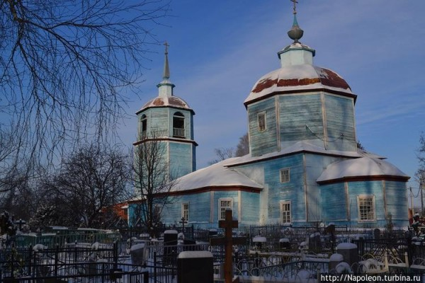 храм Казанской иконы Божьей Матери в селе Сушково