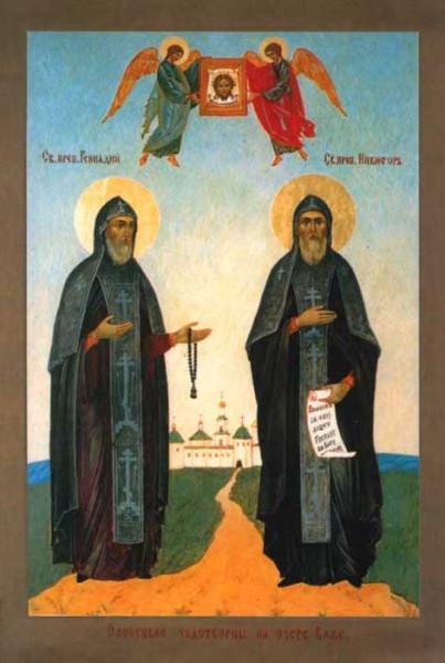 Преподобные Никифор и Геннадий Важеозерские
