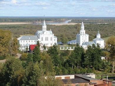 Коряжемский Никольский монастырь