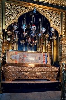 Рака с мощами святителя Алексия, митрополита Московского