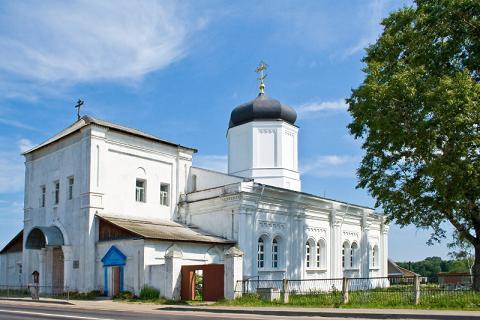 Церковь Успения Пресвятой Богородицы - Гжель