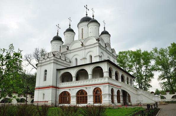 Церковь Спаса Преображения - Большие Вязёмы
