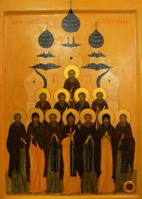 12-ти греков, строителей соборной Успенской церкви Киево-Печерской Лавры