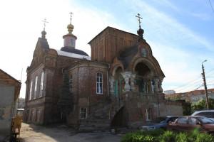 Свято-Ильинский храм в Туле, реставрируется