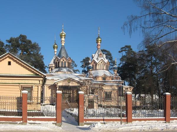 Церковь Троицы Живоначальной - Удельная - Раменский район