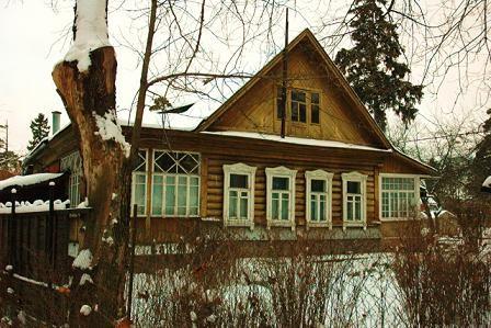 дом в Удельной, в котором жил владыка Серафим