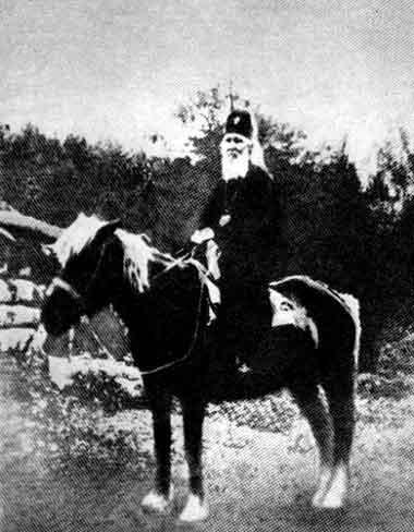 Святитель Макарий (Невский) Митрополит Московский во время миссии на Алтае