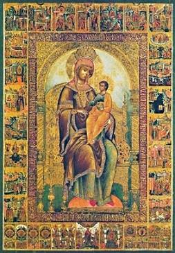 икона Божьей Матери Кипрская 1