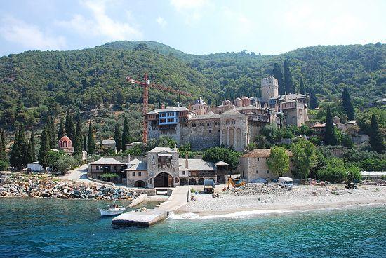 Дохиарский монастырь, Афон