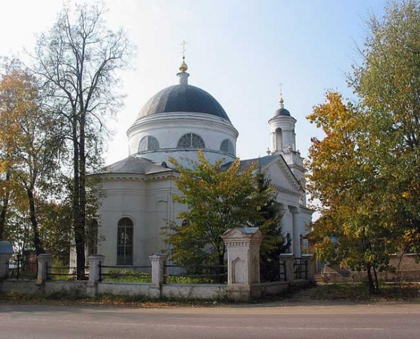 Церковь Иоанна Предтечи в с. Фряново