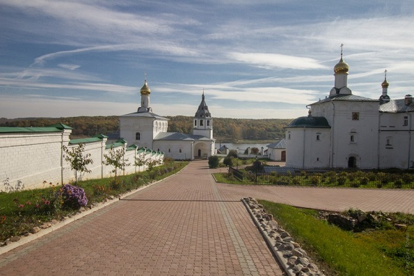 Свято-Успенский Косьмин мужской монастырь - Небылое - Юрьев-Польский район