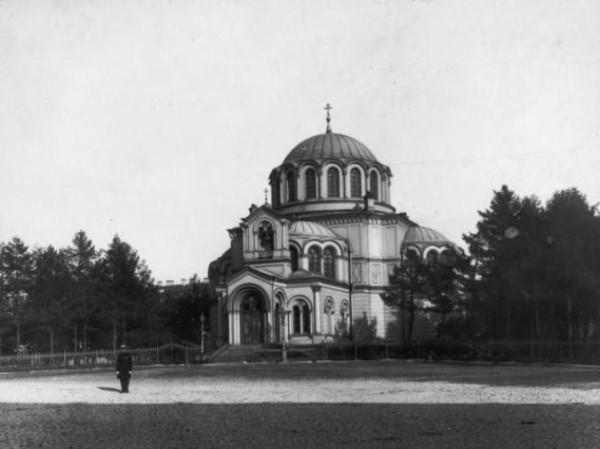 Греческая церковь Димитрия Солунского на Лиговском проспекте, снесена в 1961 году