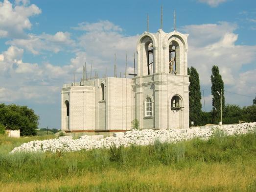 Церковь Михаила Архангела - Семидесятное - Хохольский район