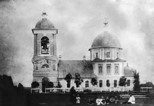 храм Благовещения Пресвятой Богородицы на Волынском кладбище в Твери, разрушен в 30-е годы прошлого века