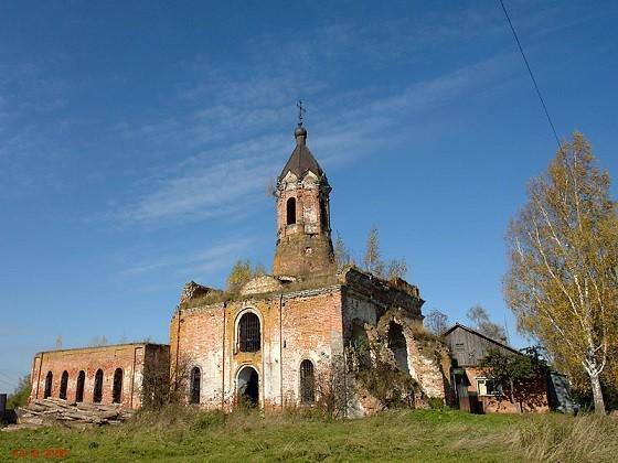 Церковь Николая Чудотворца - Черленково - Шаховской район, не действует