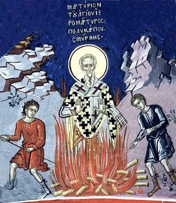 Священномученик Поликарп Смирнский, епископ