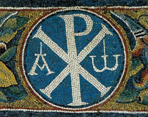 Монограмма Константина - Крест Константина Великого