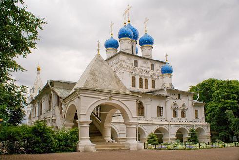 храм Казанской иконы Божией Матери в селе Коломенском