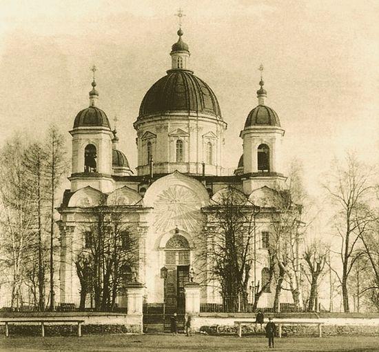 Выйско-Никольский храм, закрыт в 1929 году а позднее уничтожен безбожниками